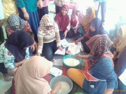 PID (Program Inovasi Desa) pembuatan kue berbahan